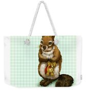 Shy Squirrel Weekender Tote Bag
