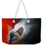 Siamese Cat 7 Painting Weekender Tote Bag