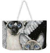 Siamese Cats Weekender Tote Bag