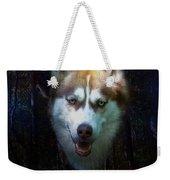 Siberian Husky Weekender Tote Bag by Brian Roscorla