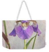 Siberian Iris Weekender Tote Bag