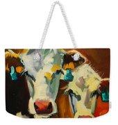 Sibling Cows Weekender Tote Bag