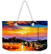 Sicily - Messina Weekender Tote Bag