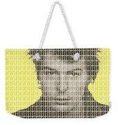 Sid Vicious Mug Shot - Yellow Weekender Tote Bag