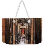 Side Aisle Of The Basilica Of The Mafra Weekender Tote Bag