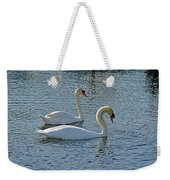 Side By Side For Life  Weekender Tote Bag