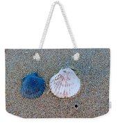 Side By Side Shells Weekender Tote Bag