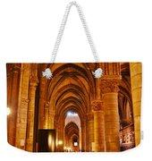Side Hall Notre Dame Cathedral - Paris Weekender Tote Bag