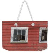 Side Of An Old Red Barn Quechee, Vermont Weekender Tote Bag