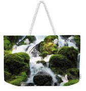 Side Of Clearwater Falls Weekender Tote Bag