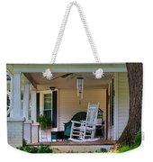 Side View Of Porch Weekender Tote Bag