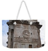 Side View Of The Arch Of Constantine Weekender Tote Bag