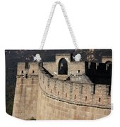 Side View Of The Great Wall Weekender Tote Bag