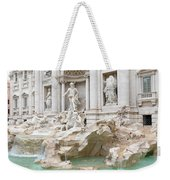 Side View Of The Trevi Fountain In Rome Weekender Tote Bag