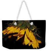 Sideview Sunflower Weekender Tote Bag