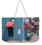 Sidewalk Cafe Annapolis Weekender Tote Bag
