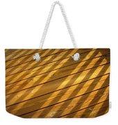 Sideways Sunshine Weekender Tote Bag