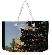 Sierra Autumn Moonset Weekender Tote Bag
