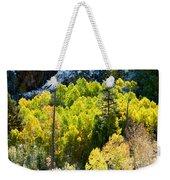 Sierra Fall Forest Weekender Tote Bag