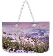 Sierra Nevada At Sunset Weekender Tote Bag
