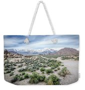 Sierra Nevada Front Weekender Tote Bag