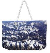 Sierra Nevada Range Weekender Tote Bag