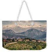 Sierra Nevada View Weekender Tote Bag