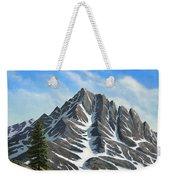 Sierra Peaks Weekender Tote Bag