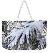 Sierra Winter Weekender Tote Bag