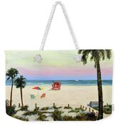 Siesta Key Beach Morning Weekender Tote Bag