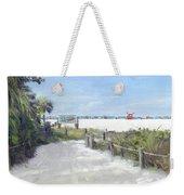 Siesta Key Public Beach Access Weekender Tote Bag