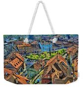 Sighisoara From Above Weekender Tote Bag