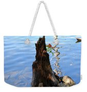 Sign Of Life Weekender Tote Bag