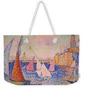 Signac: St. Tropez Harbor Weekender Tote Bag by Granger