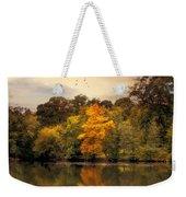 Signs Of Autumn  Weekender Tote Bag