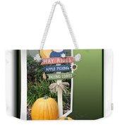Signs Of Halloween Weekender Tote Bag