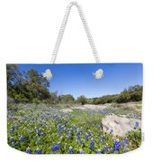 Signs Of Spring In Texas Weekender Tote Bag