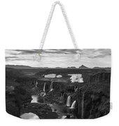 Sigoldufoss Waterfalls Iceland 1291 Weekender Tote Bag