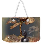 Silence -b- Weekender Tote Bag by Issabild -