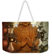 Silence -c- Weekender Tote Bag by Issabild -