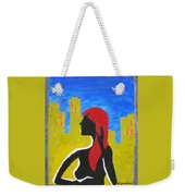 Silence In The City Weekender Tote Bag