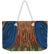 Silence Of Night Weekender Tote Bag