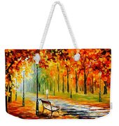 Silence Of The Fall Weekender Tote Bag