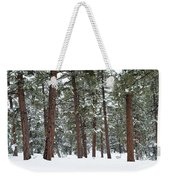 Silence Of The Woods Weekender Tote Bag