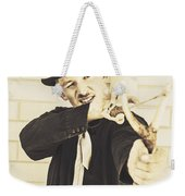 Silent Assassin With Target In Sight Weekender Tote Bag