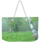 Silent Birch Weekender Tote Bag