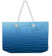 Silent Blue Tranquility Weekender Tote Bag