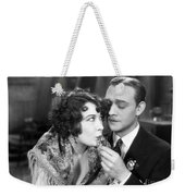 Silent Film Still: Drinking Weekender Tote Bag