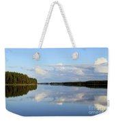 Silent Lake Weekender Tote Bag