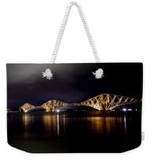 Silent Lights Of The Magic Night. Weekender Tote Bag